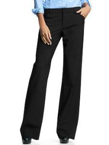 Perfect trouser pants - true black
