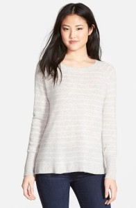 zip back cashmere sweater