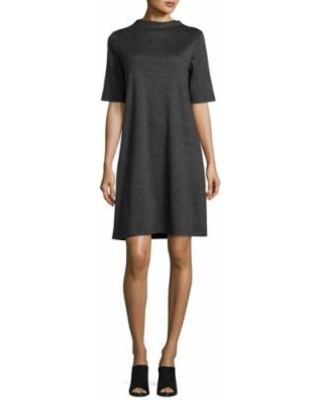 eileen-fisher-heathered-wool-funnel-neck-dress-charcoal-petite